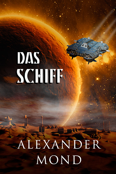 Premade cover für science fiction buch