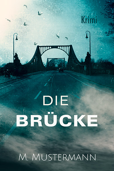 Glienicker Brücke pemade book cover design