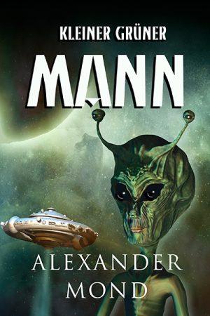 Sci-fi premade cover mit alien