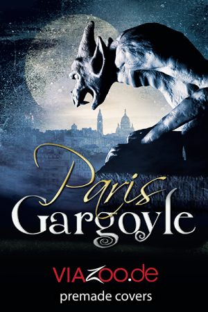 Paris Gargoyle fantasy book cover