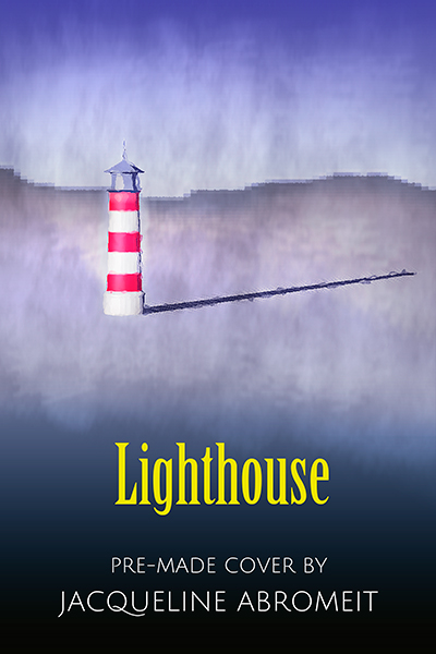 Lighthouse premade book cover
